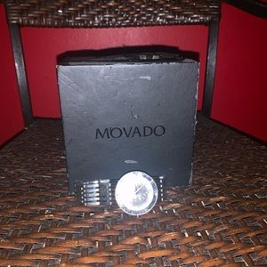 Vintage Movado Mirror Faced Watch